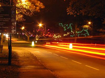 استفاده از روشنایی لامپ های بخار سدیم به رنگ کهربایی