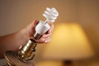 شیوه صحیح جایگذاری لامپ کم مصرف (فلورسنت فشرده یا CFL)