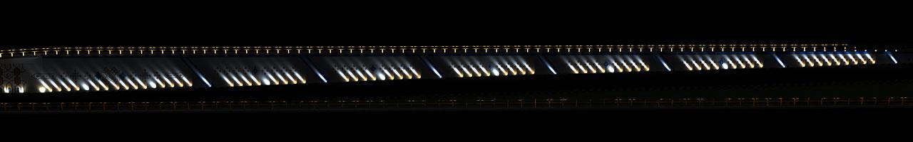طراحی نورپردازی زیرگذر تقاطع غیر هم سطح امام علی علیه السلام